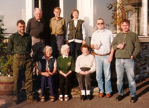 Some of our members at Blencathra Field Centre. Photograph taken by Robin Dean.